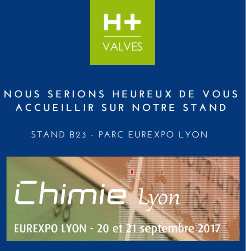 Salon Chimie Lyon H Valves